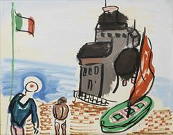 Carlos Nadal-Un port italien